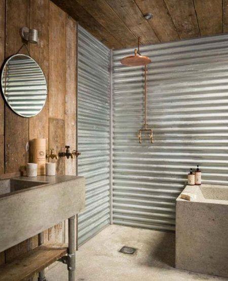 D corer la salle de bain style campagne 10 id es - Salle de bain style campagne ...
