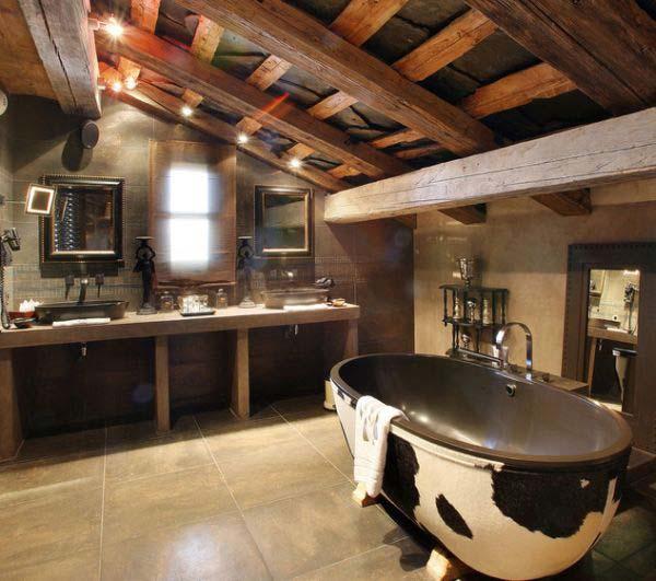 D corer la salle de bain style campagne 10 id es for Decorer salle de bain