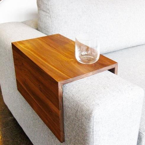 Fabriquer une table d'appoint pour le canapé