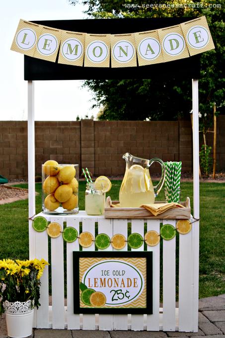 Cr er un petit stand boissons pour le jardin 20 id es diy for Ouvrir un commerce idee