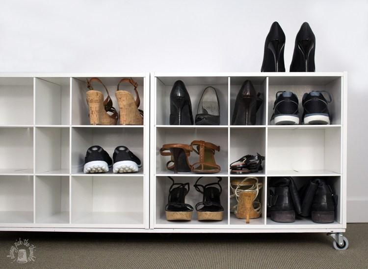 comment ranger ses chaussures dans la maison 20 id es. Black Bedroom Furniture Sets. Home Design Ideas