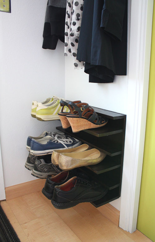 comment ranger ses chaussures dans la maison 20 id es inspirantes. Black Bedroom Furniture Sets. Home Design Ideas