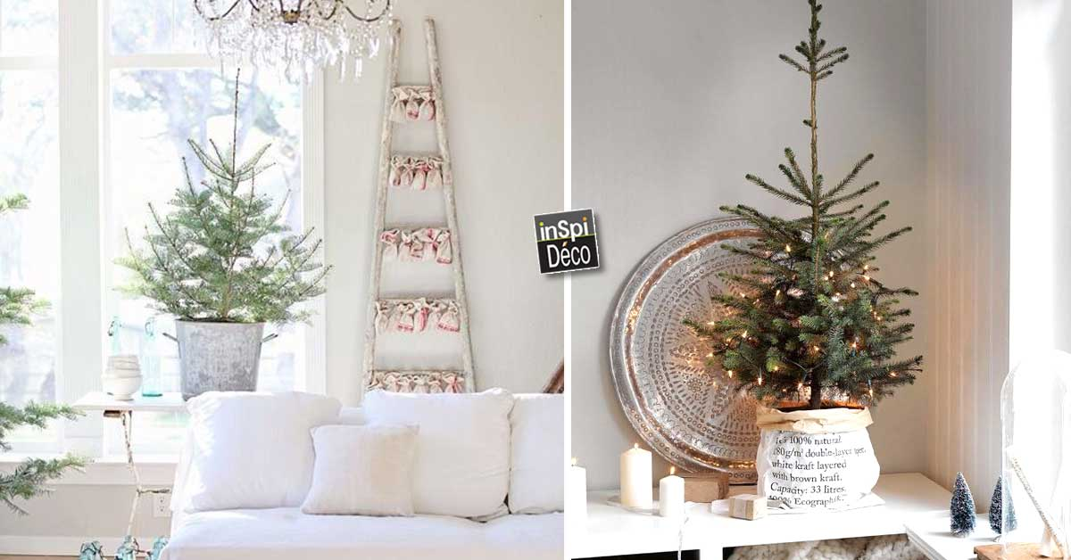 d corer son int rieur avec un petit sapin de noel 15 id es inspirantes. Black Bedroom Furniture Sets. Home Design Ideas