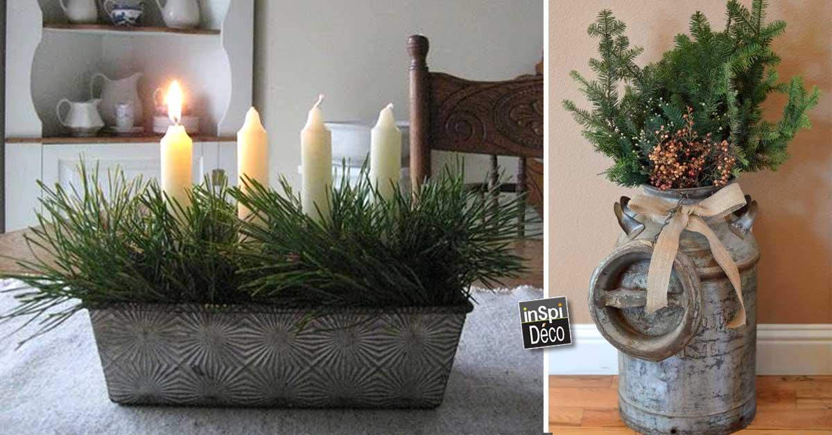 des d corations hiver diy pour int rieur chaleureux 20 id es inspirantes. Black Bedroom Furniture Sets. Home Design Ideas