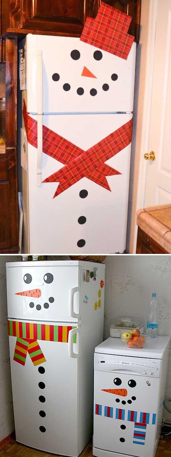 décorer sa cuisine pour noel voici 20 idées! inspirez-vous