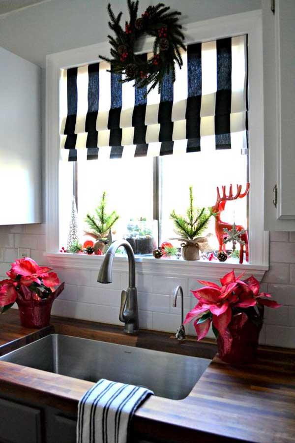 Decorare una cucina per il Natale... Qui ci sono 20 idee! Lasciatevi ...