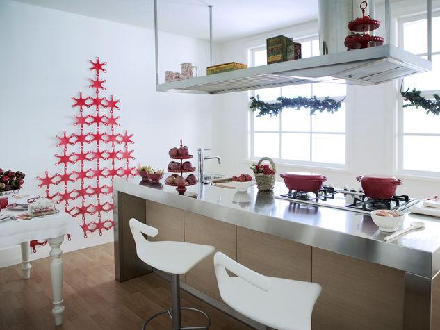 D corer sa cuisine pour noel voici 20 id es inspirez vous - Comment decorer sa cuisine ...