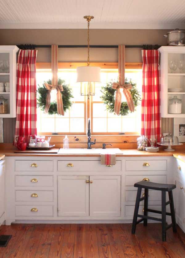 Una decorazione Natalizie in Cucina