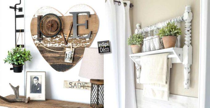 d co diy dans un style proven al 15 id es inspirantes tutoriel. Black Bedroom Furniture Sets. Home Design Ideas