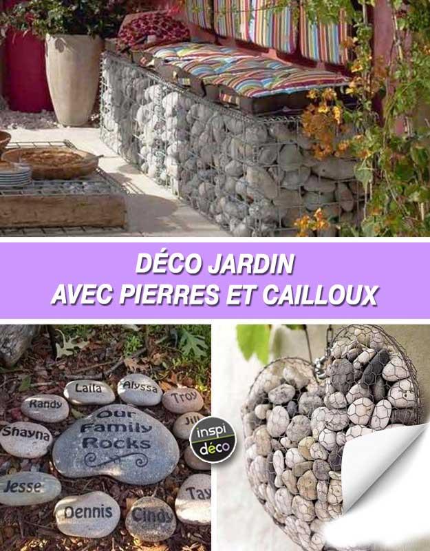 D co jardin avec pierres et cailloux voici 20 id es - Idee deco jardin avec cailloux versailles ...