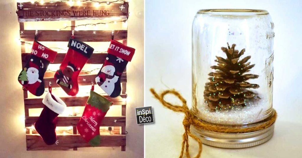 Image De Decoration De Noel.Recyclage Creatif Pour Decorer A Noel 20 Idees Pour Vous