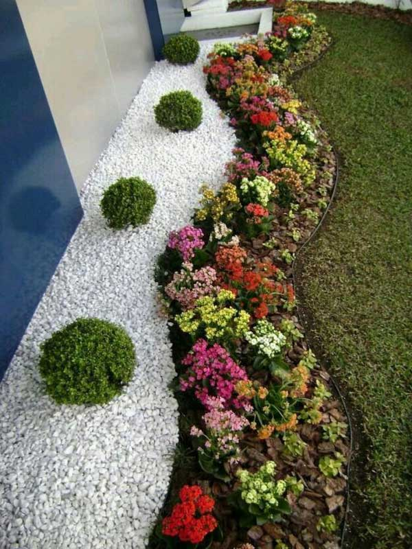 Décorer son jardin avec galets et gravillons