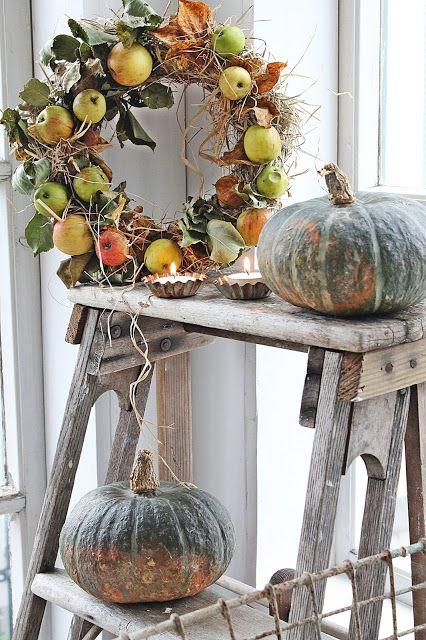 Décorer en automne dans un style Shabby Chic