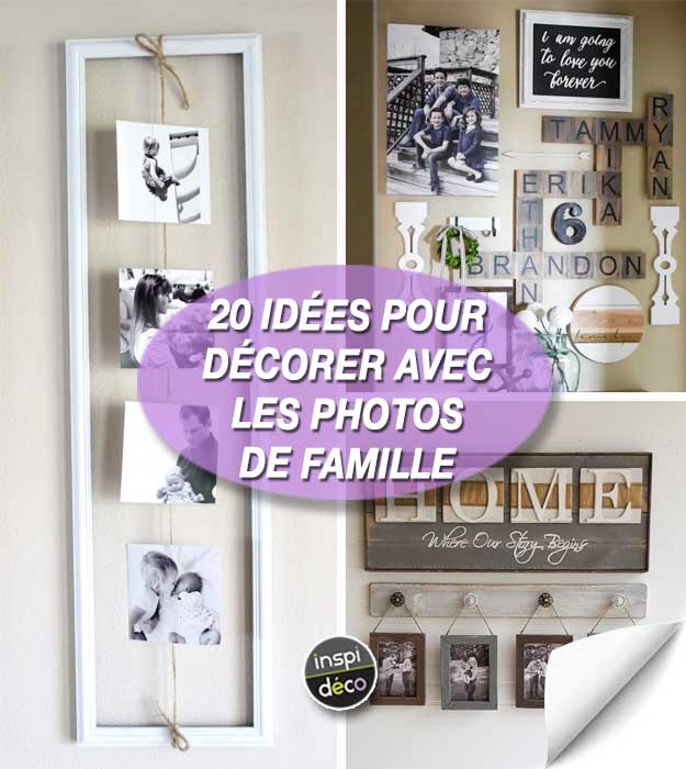 d corer avec ses photos de famille de mani re cr ative 20 id es. Black Bedroom Furniture Sets. Home Design Ideas