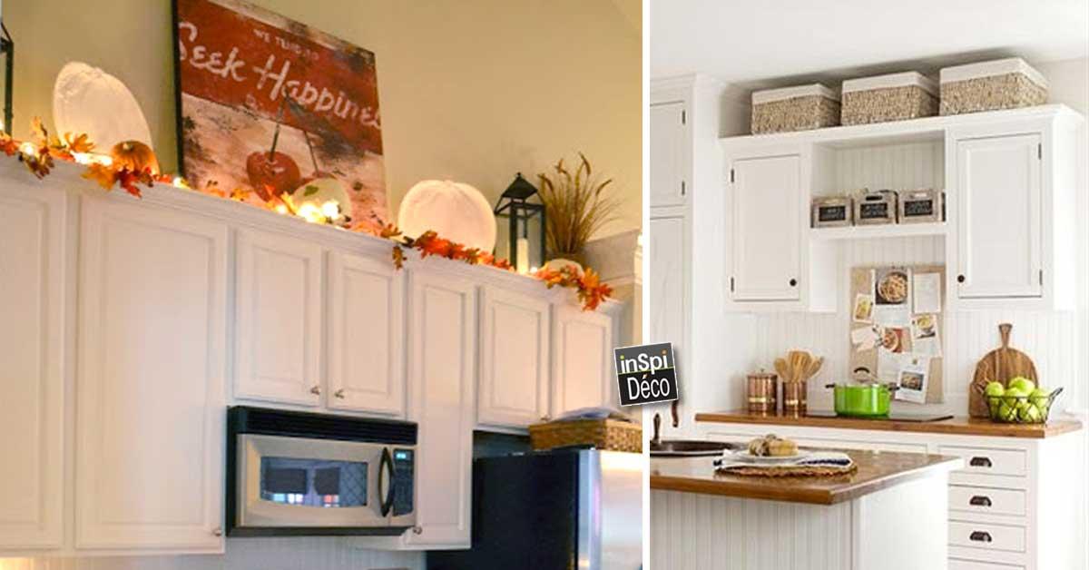 D corer le dessus des meubles de cuisine voici 20 id es for Les meubles de cuisine