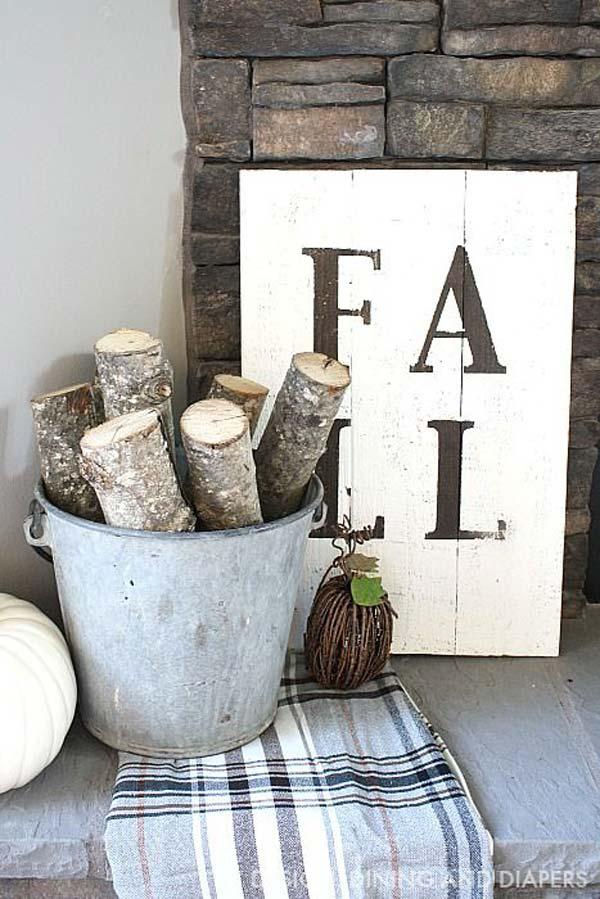 Decorare casa in autunno con un tocco rustico