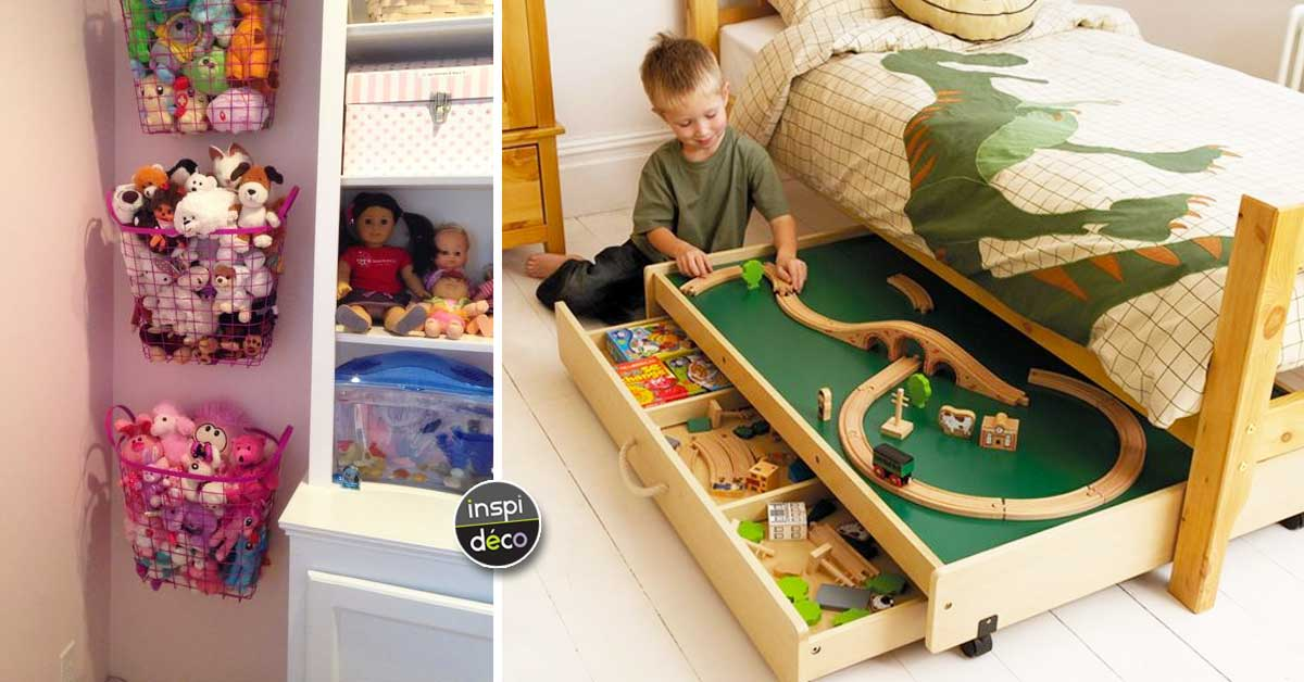 comment optimiser la chambre des enfants voici 15 id es inspirantes. Black Bedroom Furniture Sets. Home Design Ideas