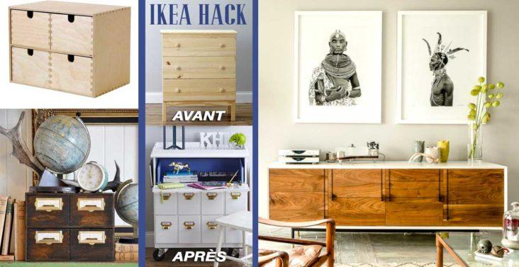 Ikea hack 23 astuces pour ajouter une touche chic un meuble ikea - Comment personnaliser une bougie ...
