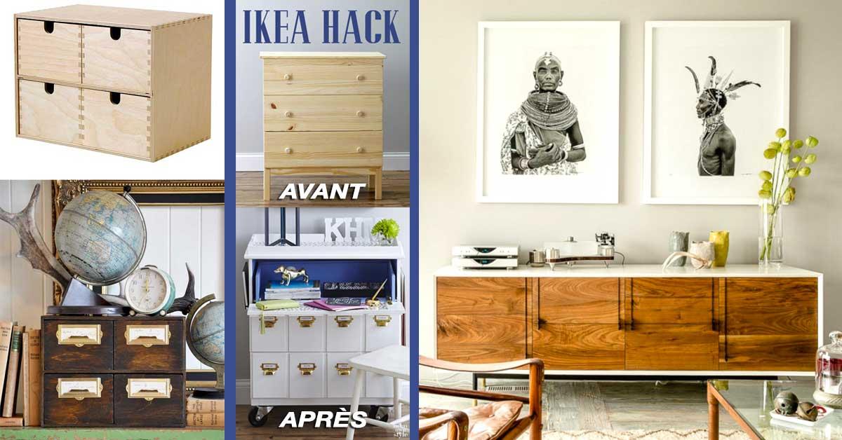 Ikea Hack 23 Astuces Pour Ajouter Une Touche Chic A Un Meuble Ikea