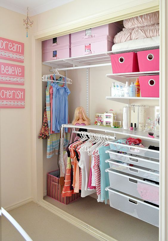 Comment optimiser la chambre des enfants voici 15 id es inspirantes for Organization ideas for teenage girl bedrooms