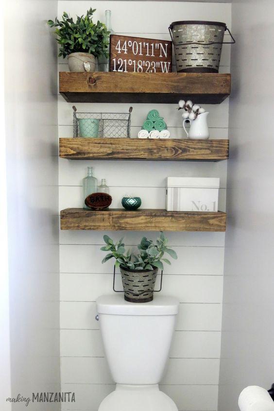 gagner de la place dans la salle de bain