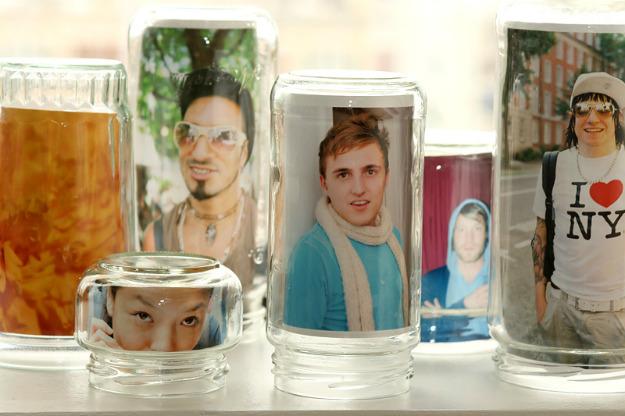 Recycler des bocaux en verre