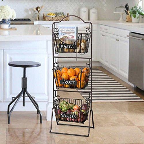 Rangement fruits et l gumes dans une petite cuisine 18 for Rangement legumes cuisine