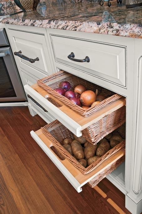 Rangement Fruits Et Legumes Dans Une Petite Cuisine 18 Idees