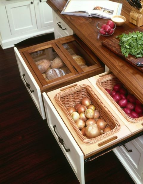 Rangement fruits et légumes
