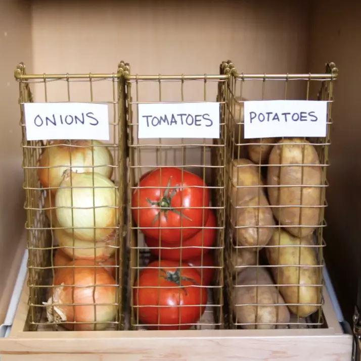 Rangement Fruits Et Légumes: Rangement Fruits Et Légumes Dans Une Petite Cuisine! 18