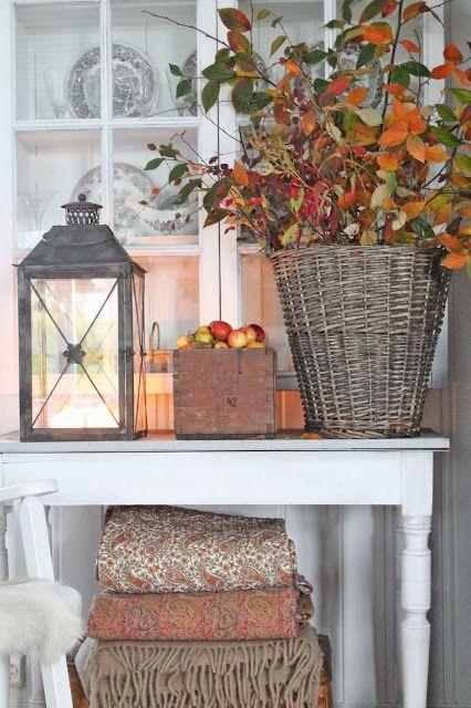 D corer avec un vase en automne 20 id es pour vous for Idee di aggiunta cottage