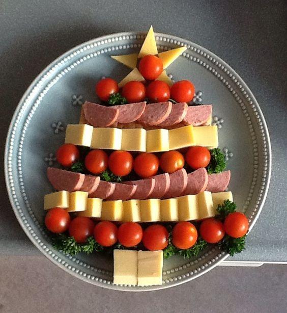 Un albero di Natale da mangiare