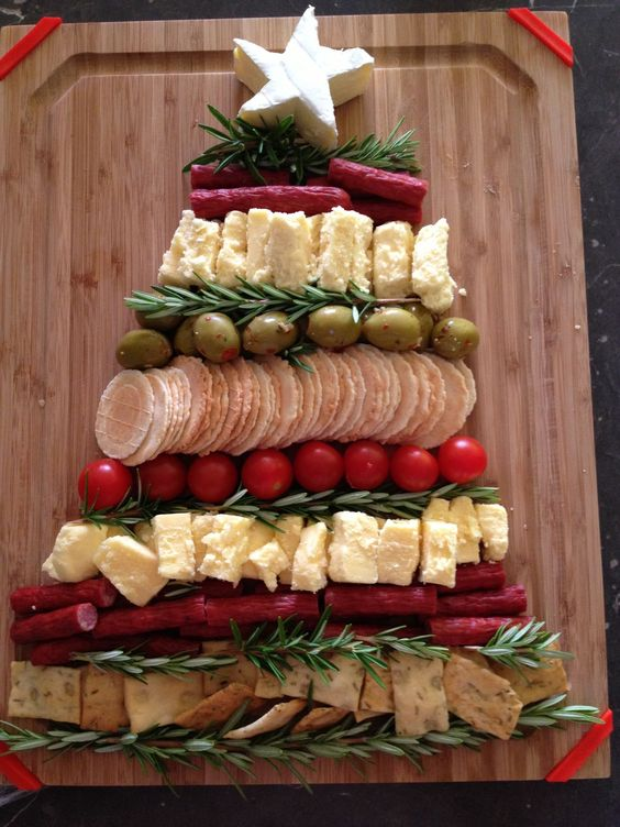 Un sapin de Noel à manger
