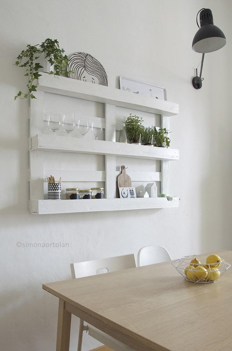 Recyclage de palettes pour votre cuisine