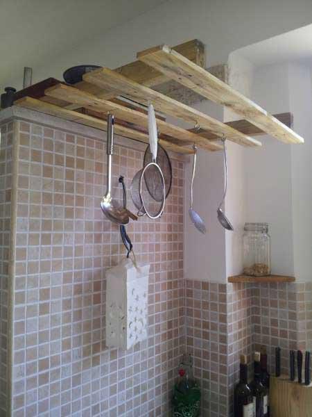 Recyclage de palettes pour votre cuisine 15 id es pour for Gazelle cuisine n 13