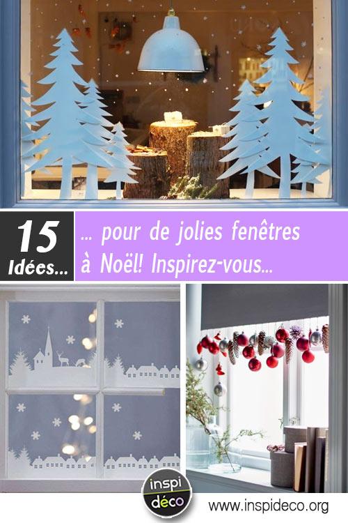 Décorer Les Fenêtres Pour Noel Voici 15 Idées Pour Vous Inspirer