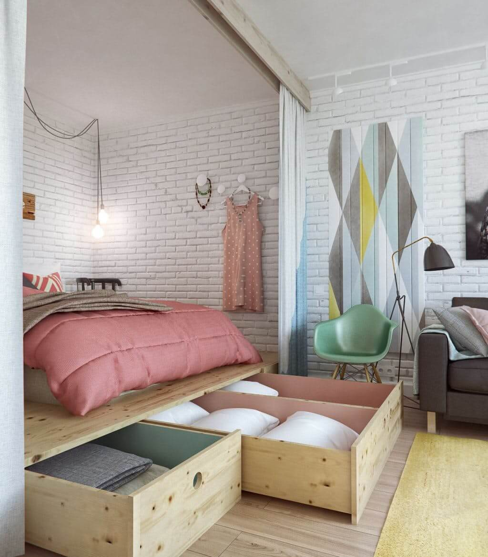 Come impostare una piccola camera da letto! 15 idee ispiratrici...