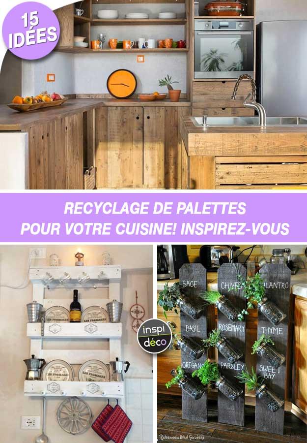 Recyclage De Palettes Pour Votre Cuisine 15 Idees Pour Vous Inspirer