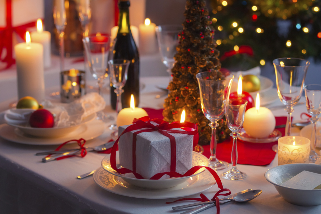 Comment décorer la table de Noel