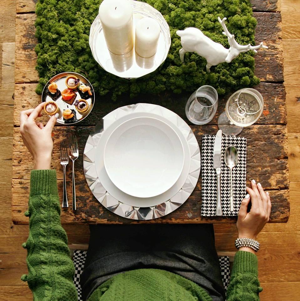 comment d corer la table de noel voici 15 id es pour. Black Bedroom Furniture Sets. Home Design Ideas