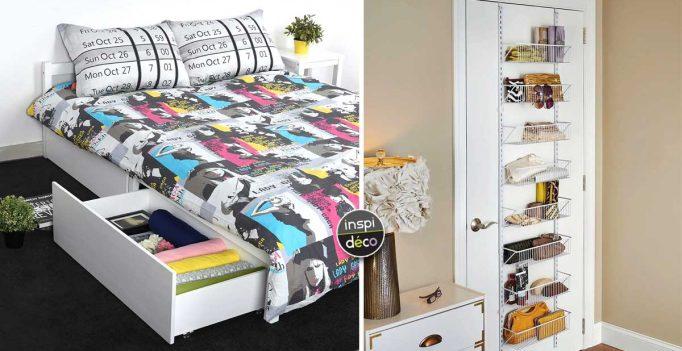 garder sa chambre bien rang e et surtout plus pratique 15 id es. Black Bedroom Furniture Sets. Home Design Ideas