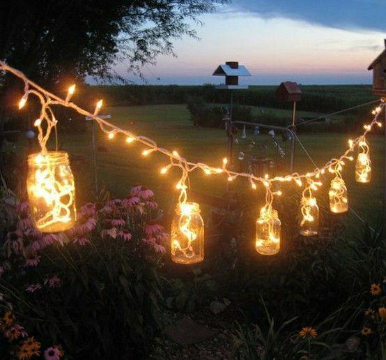 Déco originales avec guirlandes lumineuses