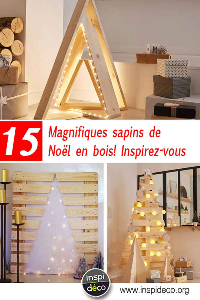 un sapin de noel en bois qui sort de l 39 ordinaire voici 15. Black Bedroom Furniture Sets. Home Design Ideas