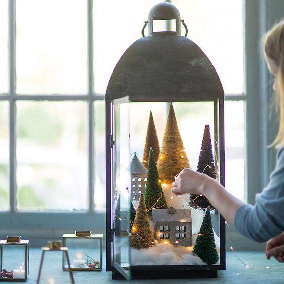 Une belle lanterne