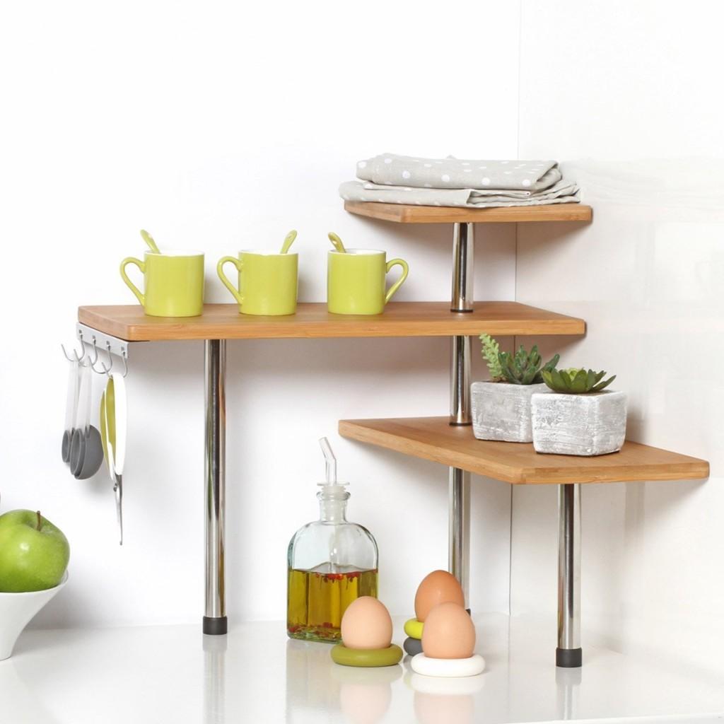 Des tag res malines dans la cuisine 15 id es inspirantes for Idee etagere cuisine