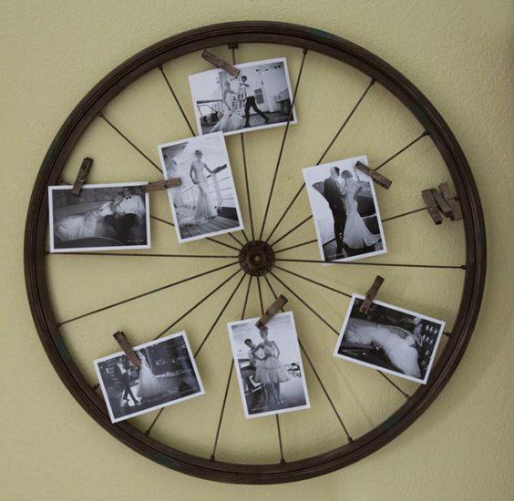 Recycler les roues du vieux vélo