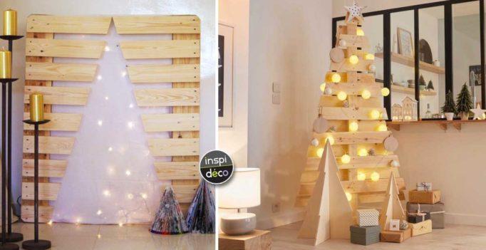un sapin de noel en bois qui sort de l 39 ordinaire voici 15 id es inspirantes. Black Bedroom Furniture Sets. Home Design Ideas
