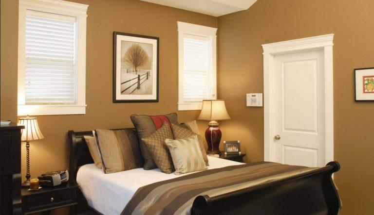 Camera in beige e marrone: 15 idee per bene sposato questi 2 colori...