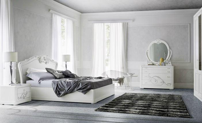 Camera Da Letto Bianco E Grigio : Stanza grigia e bianca qui ci sono idee per sposare questi