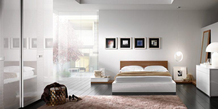Camera Da Letto In Legno Bianco : Puro ed essenziale arredare la camera da letto con il bianco